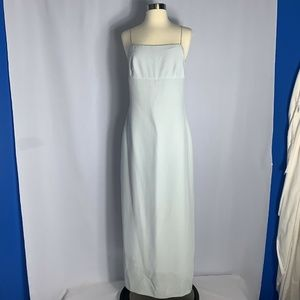 Kay Unger Evening Gown by Ann Taylor Dress Gray 8